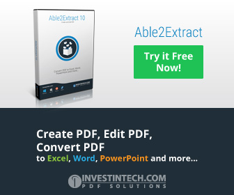 Convert PDF to Word, Excel, PowerPoint etc.